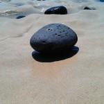 Sten vid havet