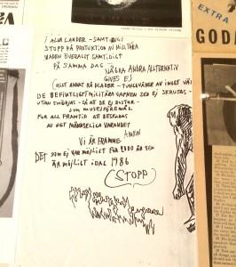 Handskrift Robert