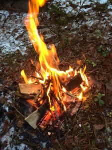 Elden brinner