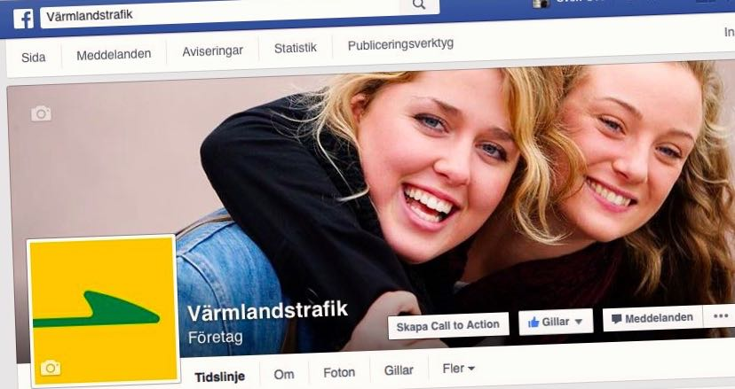 Värmlandstrafik på fb
